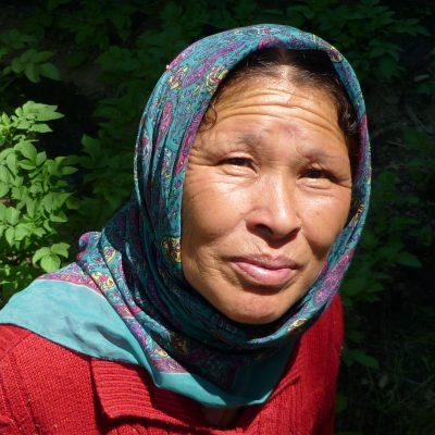 Frau in keylong